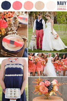 Wedding Color Combinations | Spring Wedding Colors 10 Beautiful Wedding Color Combinations
