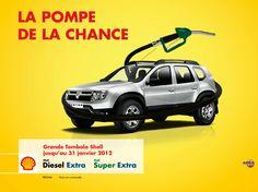 campagne tombola Shell Sénégal janvier 2012 agence McCann Erickson