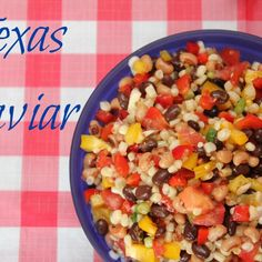 Texas Caviar Recipe + Ultimate BBQ Party Food Recipes thanks to Must Have Mom