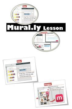 •Mural.ly is an online whiteboard designed to visually organize and collaborate in a playful way •Drag & drop sticky notes, images, links and documents to organize your ideas •Use it for brainstorming and easy collaboration.  This lesson includes screen shots and instructions to enable educators and students to utilize Mural.ly.