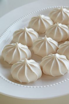 French Meringues. Nibble on worldly delights as you swap travel stories with baby shower guests.