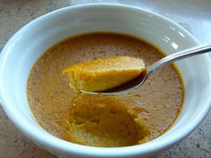 Pumpkin Ginger Custard