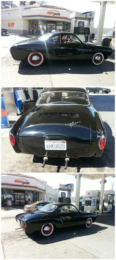 Black Karmann Ghia