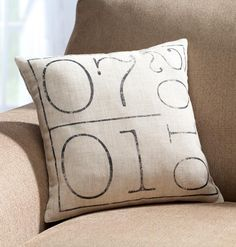 Your Special Date Pillow - Zoom