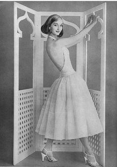Evelyn Tripp, June Vogue 1956