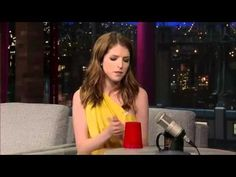 """Anna Kendrick knocks """"You're Gonna Miss Me"""" out of the park on Letterman."""