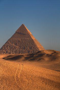 Great Pyramid of Giza.