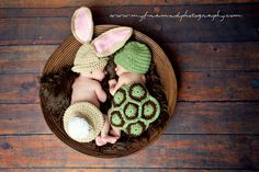 Crochet The Tortoise and the Hare Set Bunny and Turtle Set Combo. $55.00, via Etsy.