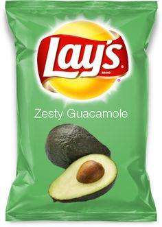 Zesty Guacamole Lays Chips