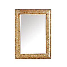 Gold Mosaic Mirror