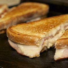 grilledcheeseco:  The Cordon Bleu. Swiss, tender chicken breast, smoked ham finished with a Dijon sauce. #loveatfirstbite #welovegrilledchee...