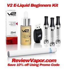 V2 eLiquid Beginners