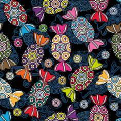 Bonbon fabric by cassiopee on Spoonflower - custom fabric
