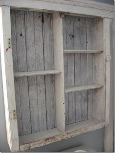 Pallet cabinet.