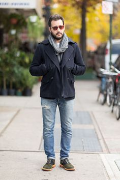 Street Style: Two-Tone Oxford Shoes
