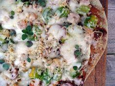 Cajun Shrimp & Andouille Sausage Jambalaya Pizza...