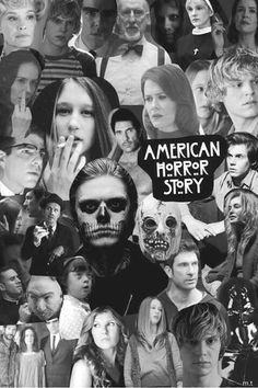 American Horror Story Collage