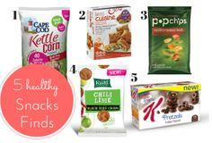 Friday Five:  Healthy Supermarket Snack Finds