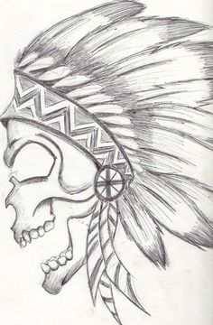 Native American Drawing On Pinterest