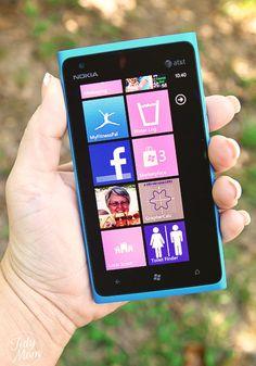 Windows Phone tiles at TidyMom.net