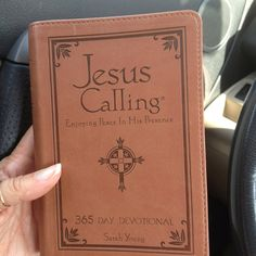 Daily Devotional by Sarah Young. Excellent!!