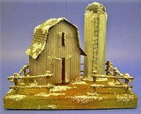 Cardboard Barn and Silo pattern