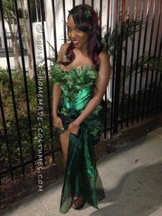 Sexy Homemade Poison Ivy Costume… Coolest Halloween Costume Contest