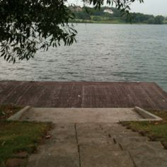 The jetty by the lake, just outside APIIT's lakeside campus.