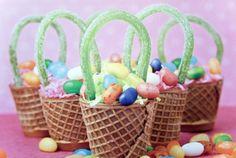 Easter Basket Cake Bites