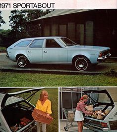 1971 AMC Hornet Sportabout Station Wagon