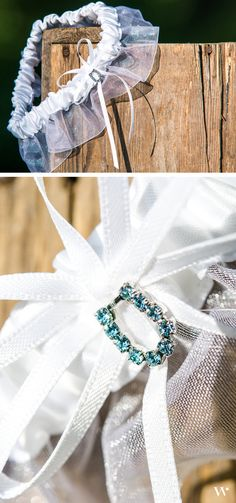 Add luck and country charm to your bridal accessories with our Horseshoe Charm Blue Crystal Garter: http://www.weddingstar.com/product/blue-crystal-bridal-garters