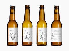 bottl, graphic, beer packaging, beer labels, packag design, mikkel, danishes, bedow, ales
