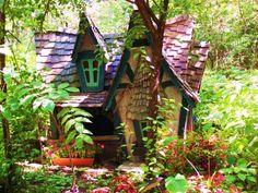 color fairy house