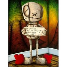 If Your Mind Begins To Doubt  - Fabio Napoleoni - a hell of an artist with an incredible story behind behind all of his pieces.