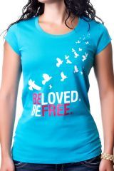 Fair trade, organic cotton tees that empower women in India. On sale for $15.99!