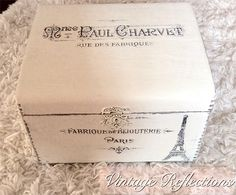 Vintage Jewelry Box - Reader Featured Project - The Graphics Fairy
