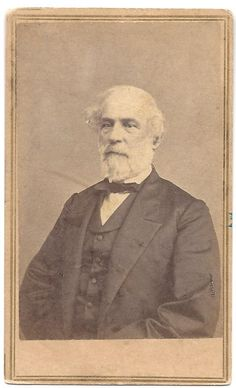 1869 cdv of the great and eloquent Robert E. Lee. Photographed by Mathew Brady Studio during Lee's last visit to Washington, DC.
