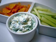 Easy spinach & feta dip!