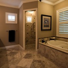 Doorless Shower Design, Pictures, Remodel, Decor and Ideas - page 2