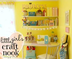 Raising up Rubies: a little girls craft nook ... ♥