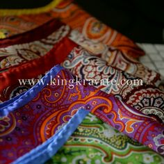 Efflorescent Pocket Squares WWW.KINGKRAVATE.COM