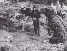 behind the scenes of King Kong Escapes