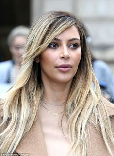 nori necklac, celebrity style, hair colors, kardashian style, kim kardashian, daughter, blond, pencil skirts, beauti