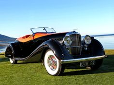 1935 Duesenberg SJ 585 Convertible Coupe by Gurney-Nutting