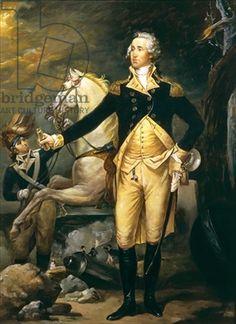 "Portrait of George Washington. Bit of trivia - he was 6'4"" tall"