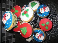 Cupcakes Kerst