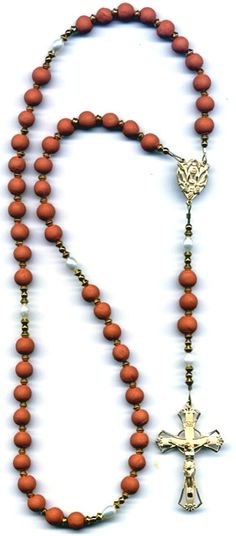 How to Make a Rosary From Rose Petals.
