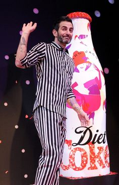 Marc Jacobs Stars in New Diet Coke Ads, Commercial