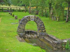 Sacred Wells:  Brighid's #Well, Kildare, Ireland.