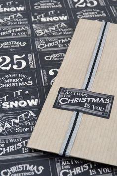 Stickersheet Christmas rechthoekig ♥